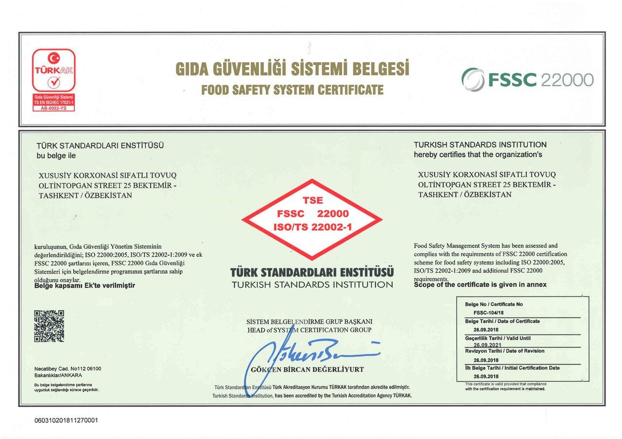 FSSC 22000-4